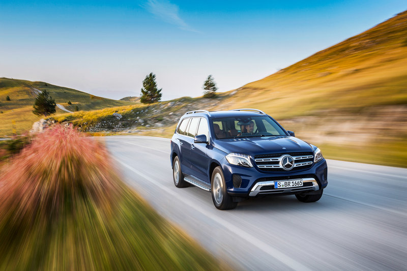 2017 Mercedes-Benz GLS-Class High Resolution Exterior Wallpaper quality - image 654044