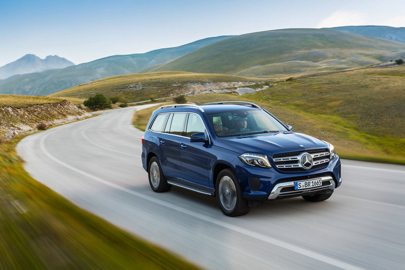 2017 Mercedes-Benz GLS-Class High Resolution Exterior - image 654045