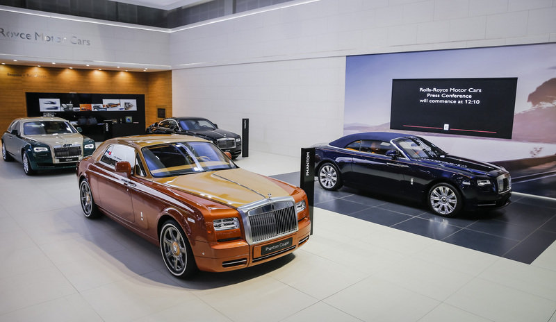 2015 Rolls Royce Phantom Coupe Tiger Edition - image 655426