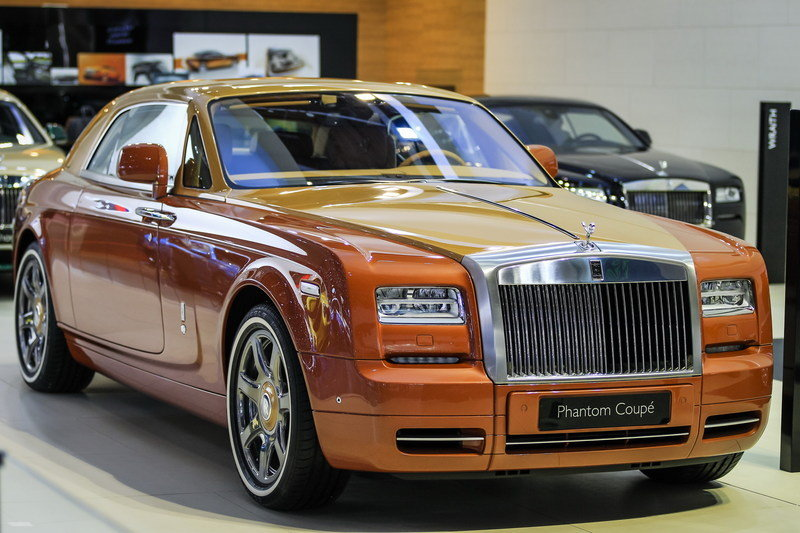 2015 Rolls Royce Phantom Coupe Tiger Edition