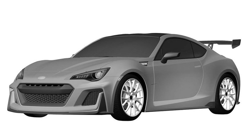 Toyota Files Patent For High-Performance FR-S