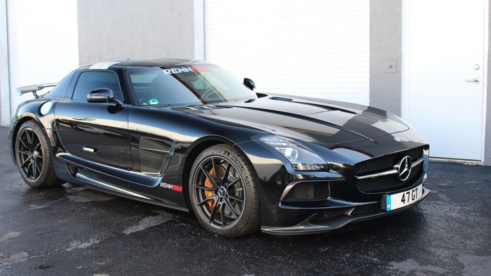 2014 mercedes benz sls amg black series by renntech review. Black Bedroom Furniture Sets. Home Design Ideas