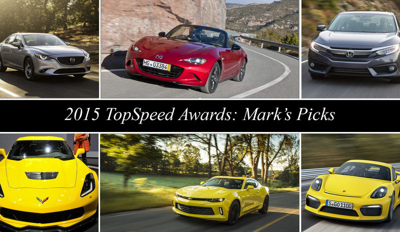 2015 TopSpeed Awards: Mark's Picks