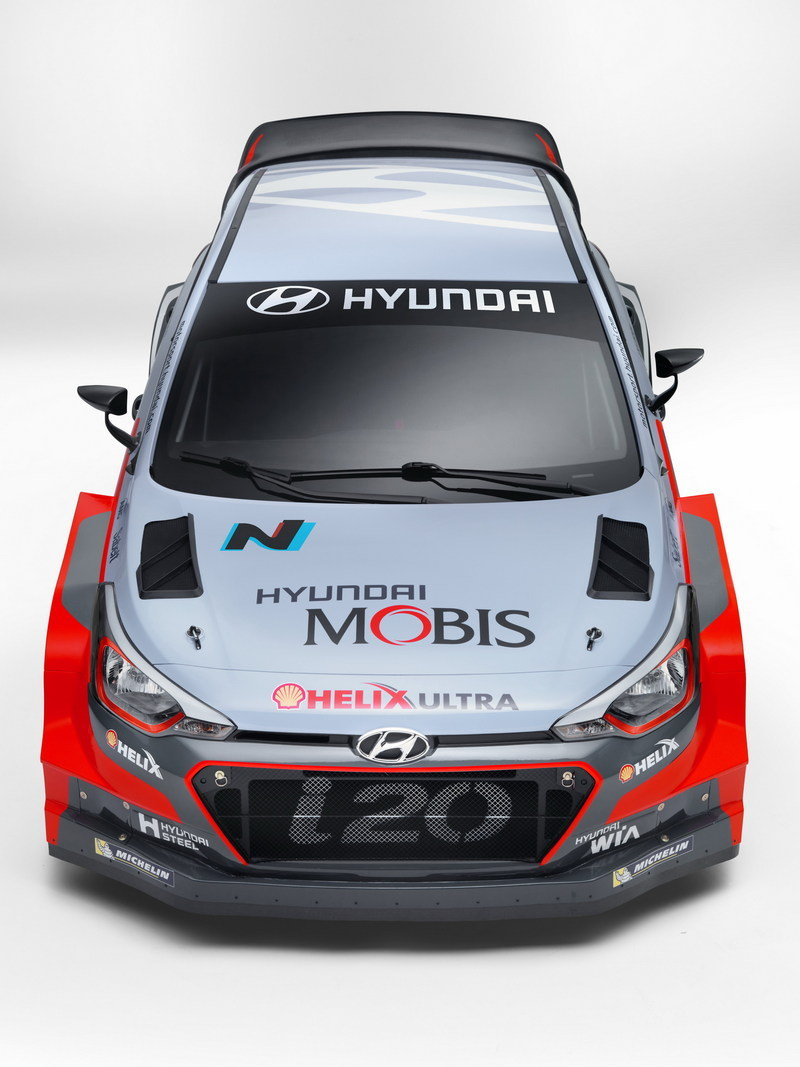 2016 Hyundai i20 WRC High Resolution Exterior - image 659328