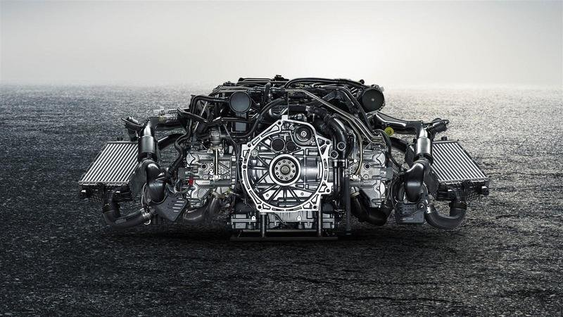 2017 Porsche 911 Turbo High Resolution Drivetrain - image 658189