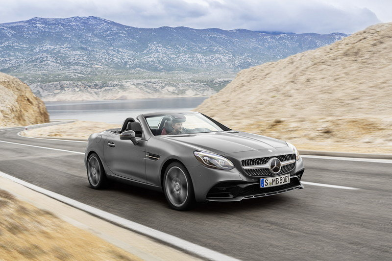 Wallpaper of the Day: 2017 Mercedes-Benz SLC Roadster