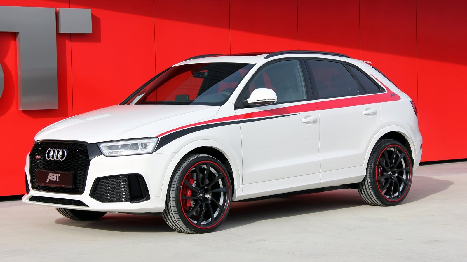 2016 audi rs q3 by abt sportsline review top speed. Black Bedroom Furniture Sets. Home Design Ideas