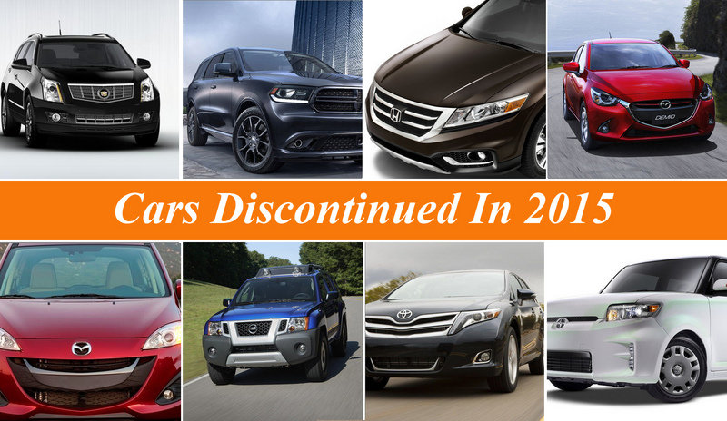 Cars Discontinued In 2015