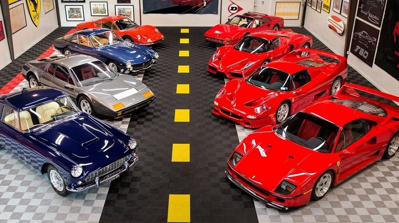 Collection Of Eight Ferraris Worth More Than $11 Million Heading To Auction