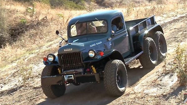 Custom 1942 Dodge Power Wagon Shows Up In Jay Leno's Garage News - Top Speed