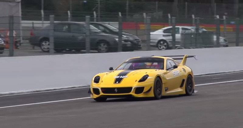 Ferrari 599XX Evoluzione Sounds Brutal: Video