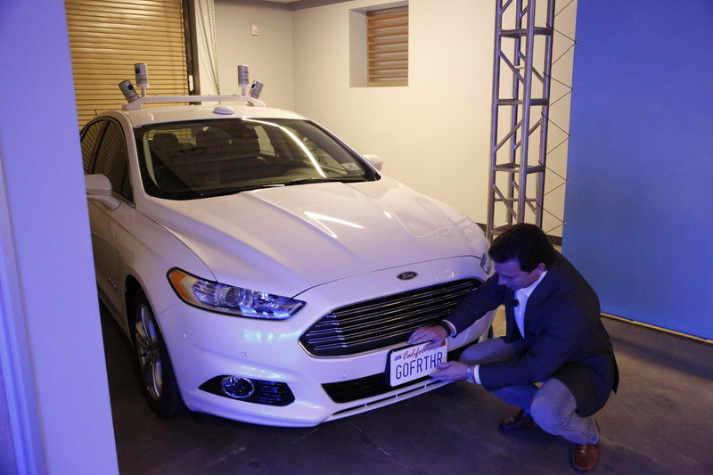 Ford Begins Testing Autonomous Vehicles On California Roads - image 659951