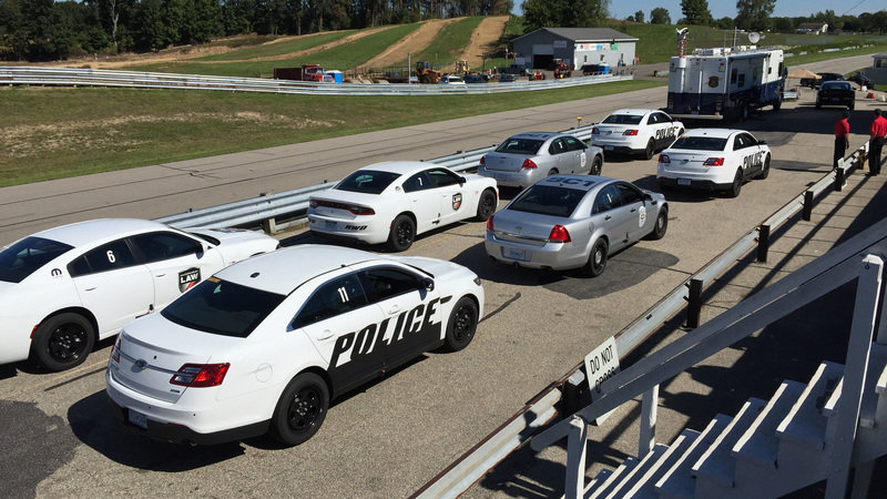 Ford's Pursuit Vehicles Ranked Highest In Police Department Testing