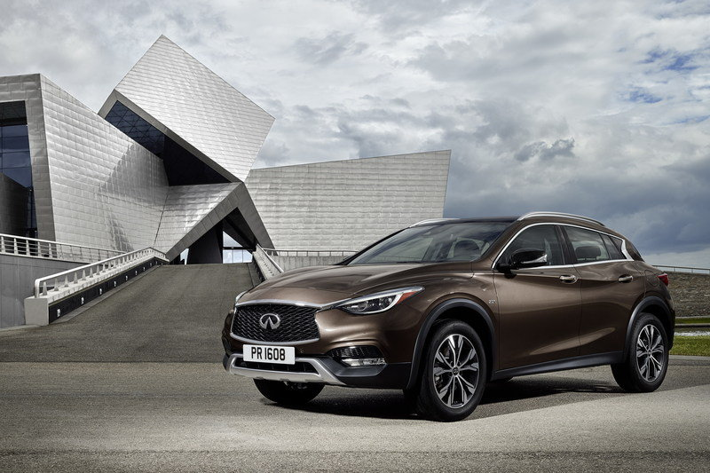 Infiniti Q30 Will Be Rebadged As QX30 In The U.S.