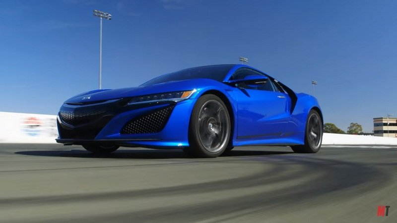 Motor Trend Takes An In-Depth Look At The Acura NSX: Video
