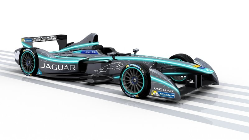 2016 Jaguar I-Type Formula E Race Car