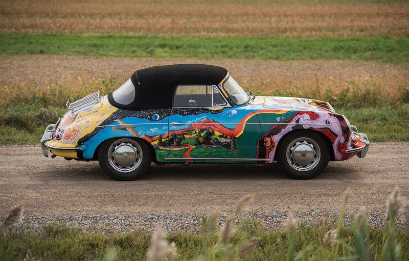 Janis Joplin-Owned 1964 Porsche 356C Cabriolet Fetches $1.76 Million At Sotheby's Auction