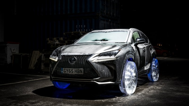 Lexus NX Gets Ice Wheels