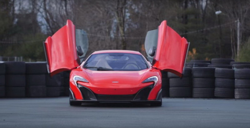 McLaren 675LT Destroys The Track: Video
