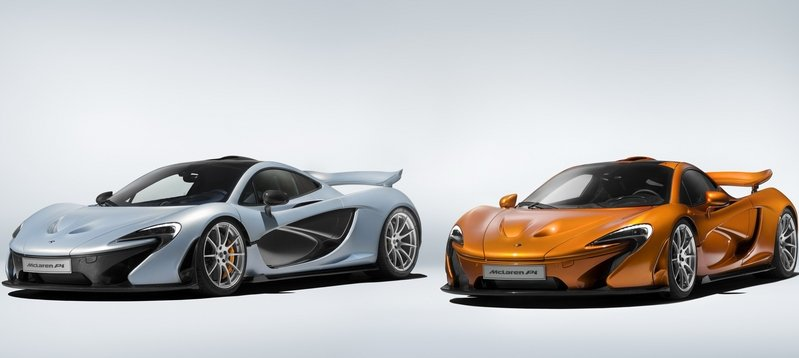 McLaren Builds Final P1 Supercar