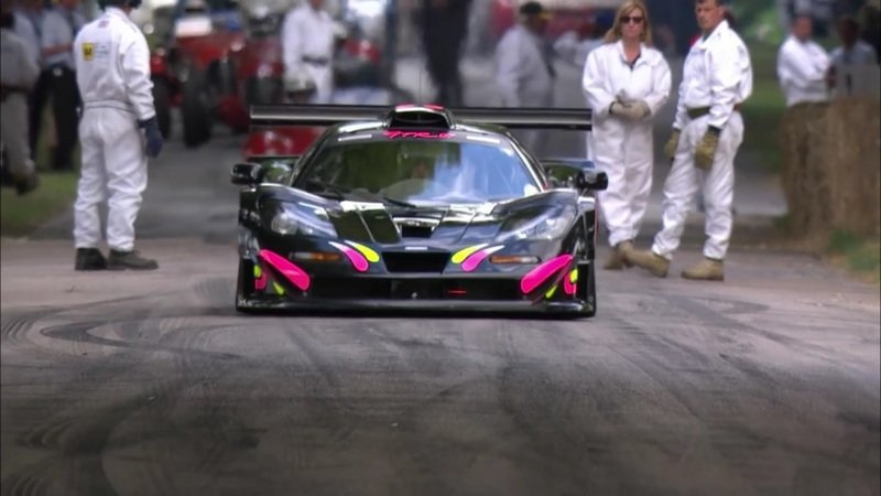 McLaren F1 GTR 'Longtail' On-board With Kenny Bräck At Goodwood: Video