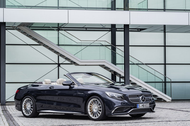 2017 Mercedes-AMG S 65 Cabriolet High Resolution Exterior - image 659509
