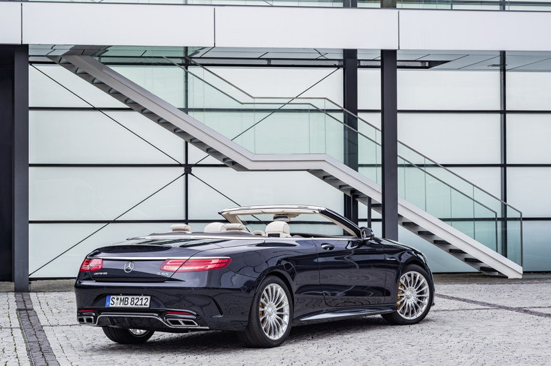 2017 Mercedes-AMG S 65 Cabriolet High Resolution Exterior - image 659511