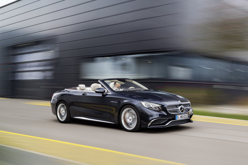 2017 Mercedes-AMG S 65 Cabriolet High Resolution Exterior - image 659501
