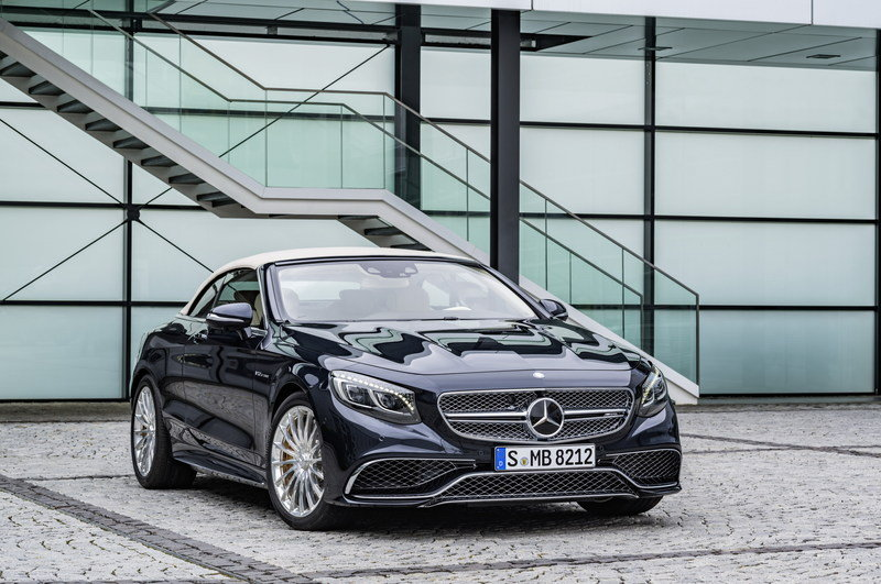 2017 Mercedes-AMG S 65 Cabriolet High Resolution Exterior - image 659507