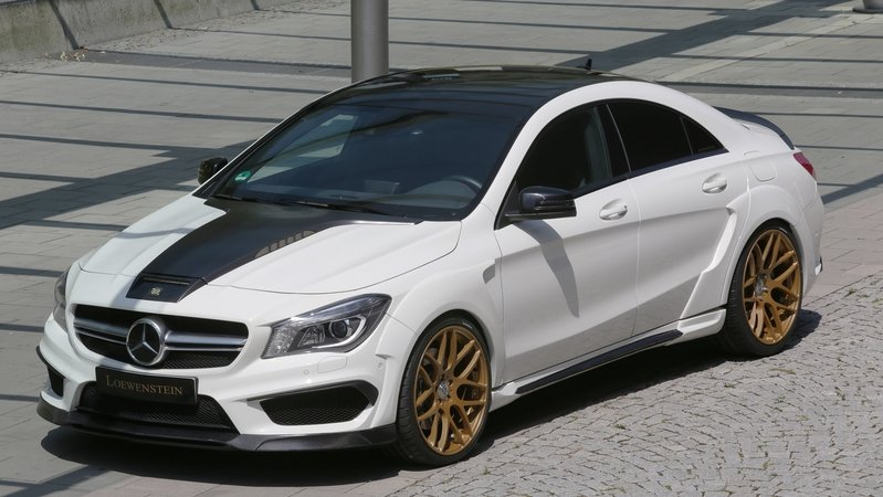 2015 Mercedes-Benz CLA45 AMG By Loewenstein