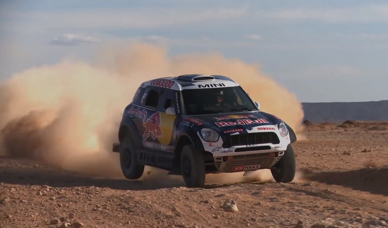 Mini Gears Up For The Dakar Rally: Video