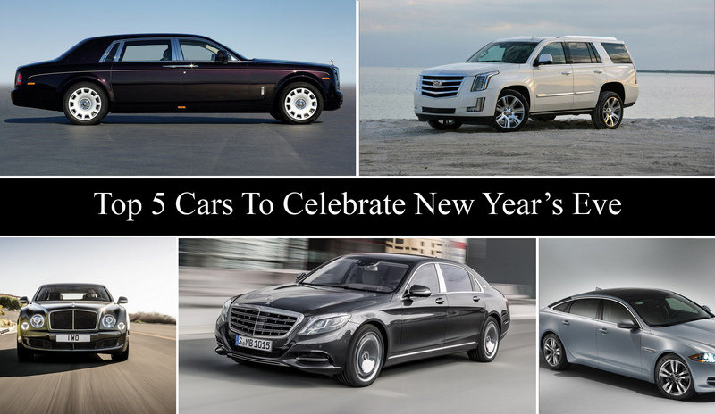 Top 5 Cars To Celebrate New Year's Eve