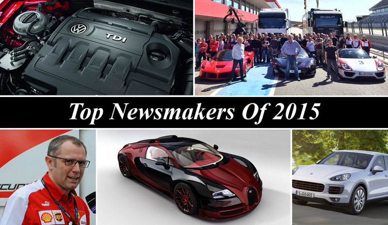 Top Newsmakers Of 2015