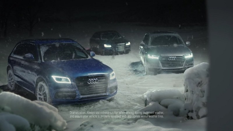 "Audi ""The Forecast"" Commercial: Video"