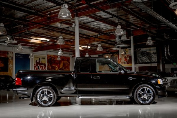 2000 ford f 150 harley davidson edition truck review. Black Bedroom Furniture Sets. Home Design Ideas