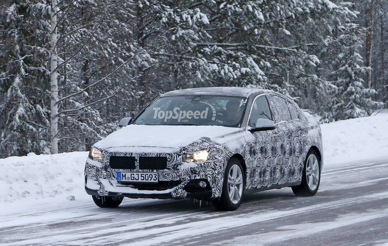 2017 BMW 1 Series Sedan Exterior Spyshots - image 663495