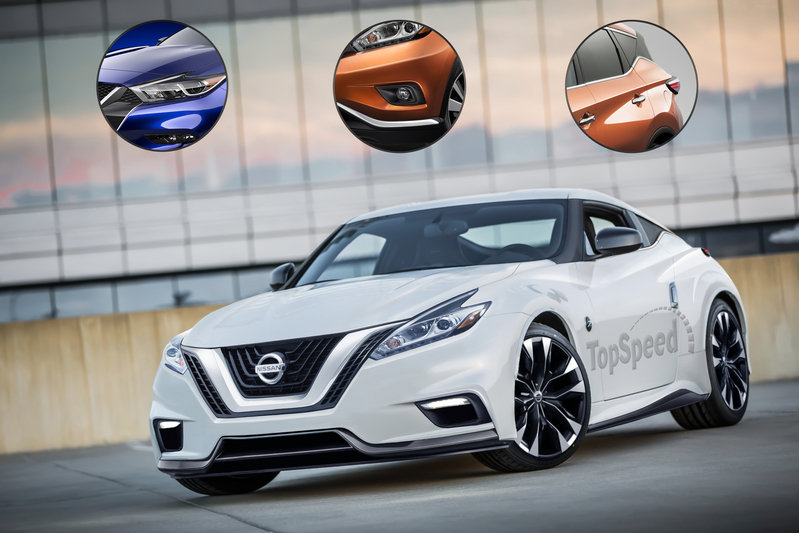 2020 Nissan Z Exterior Exclusive Renderings Computer Renderings and Photoshop - image 660951