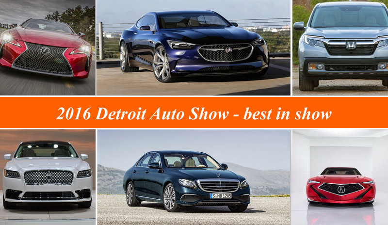 2016 Detroit Auto Show - Best In Show