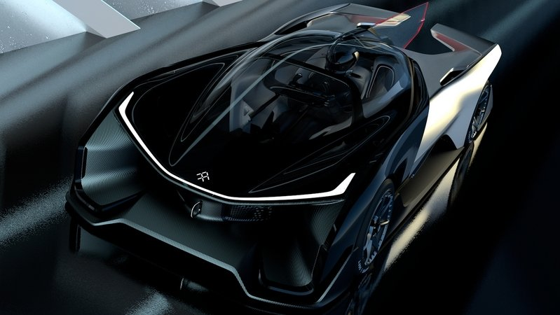 2016 Faraday Future FFZERO1 Concept