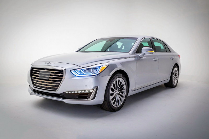 2017 Genesis G90 High Resolution Exterior Wallpaper quality - image 661902