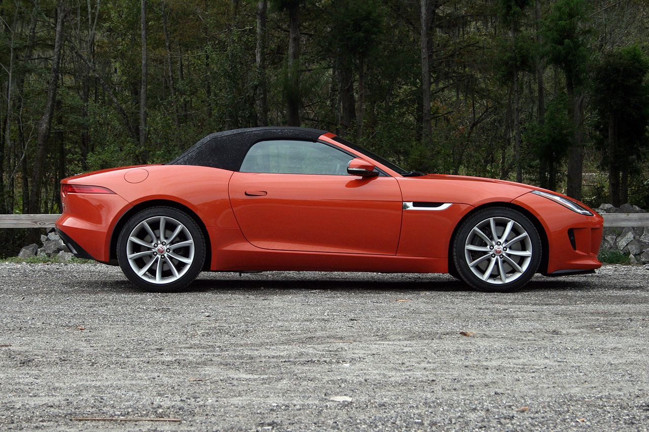 2016 jaguar f type convertible driven picture 660715 car review top speed. Black Bedroom Furniture Sets. Home Design Ideas
