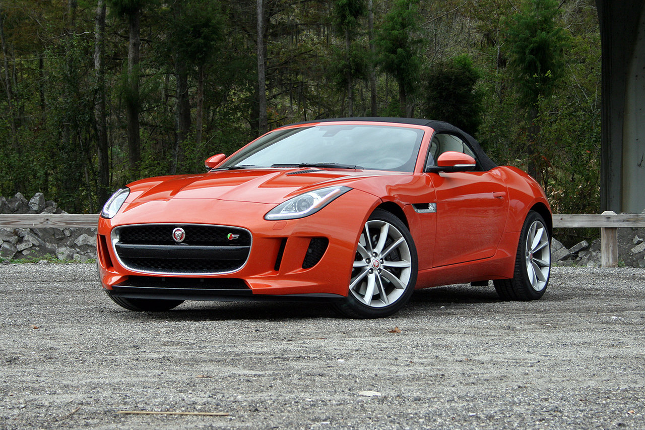 2016 jaguar f type convertible driven picture 660705 car review top speed. Black Bedroom Furniture Sets. Home Design Ideas