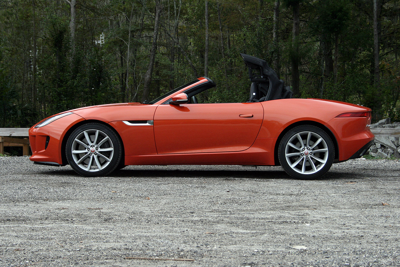 2016 jaguar f type convertible driven picture 660709 car review top speed. Black Bedroom Furniture Sets. Home Design Ideas