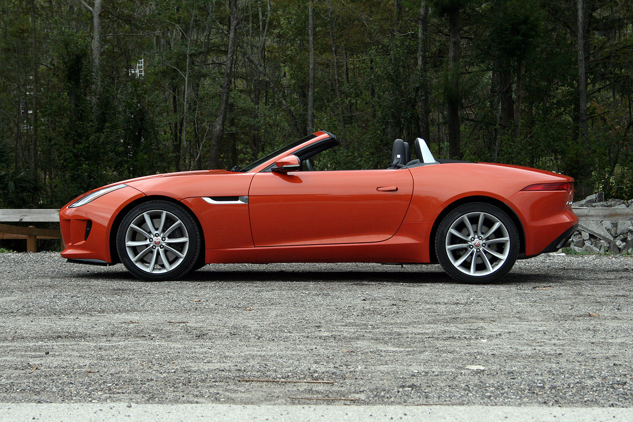 2016 jaguar f type convertible driven picture 660710 car review top speed. Black Bedroom Furniture Sets. Home Design Ideas
