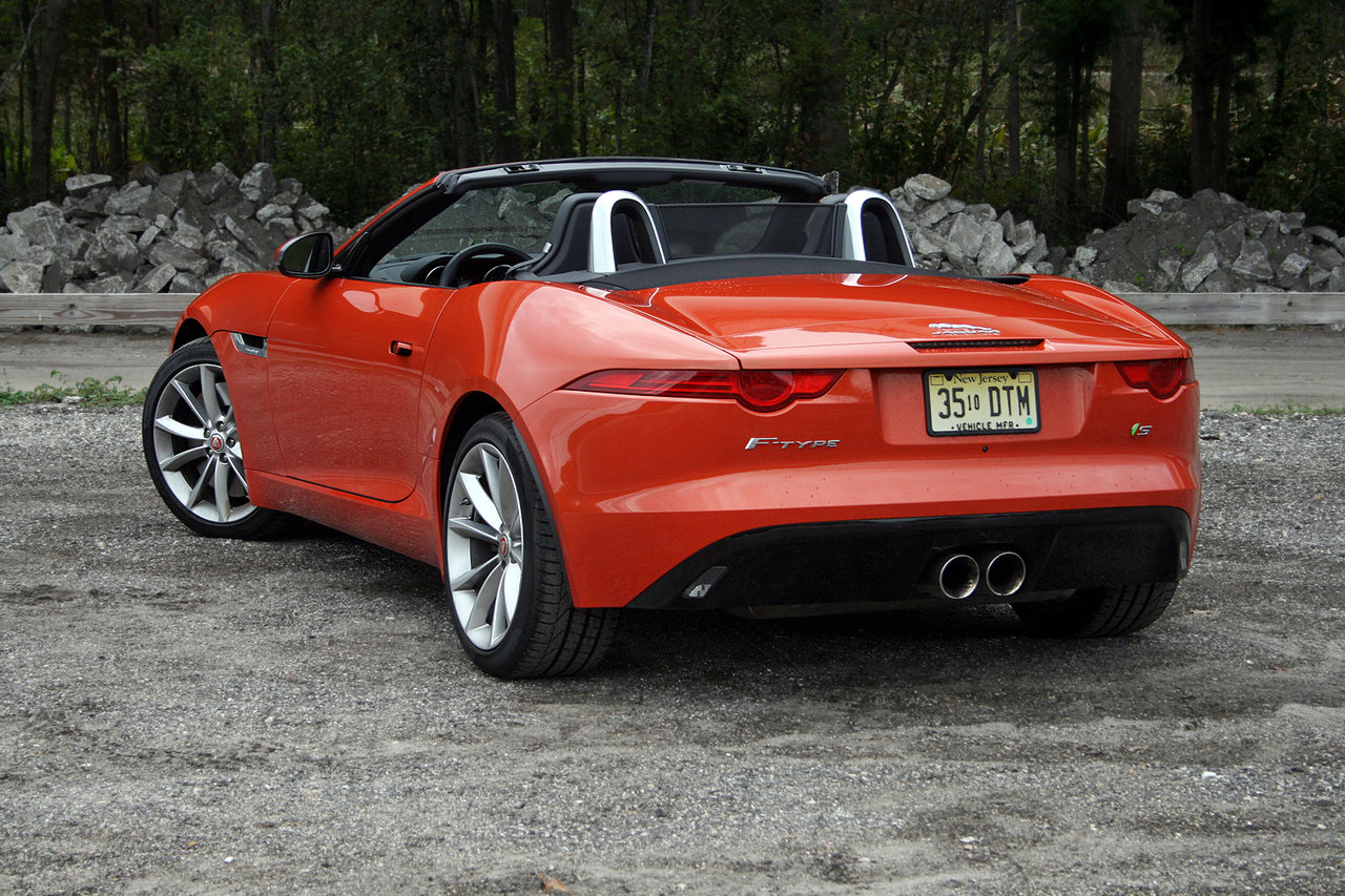 2016 jaguar f type convertible driven picture 660712 car review top speed. Black Bedroom Furniture Sets. Home Design Ideas