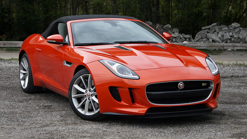 2016 Jaguar F-Type Convertible – Driven