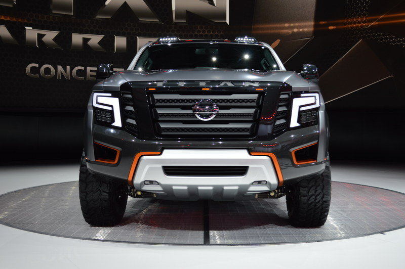 2016 nissan titan warrior concept review top speed. Black Bedroom Furniture Sets. Home Design Ideas