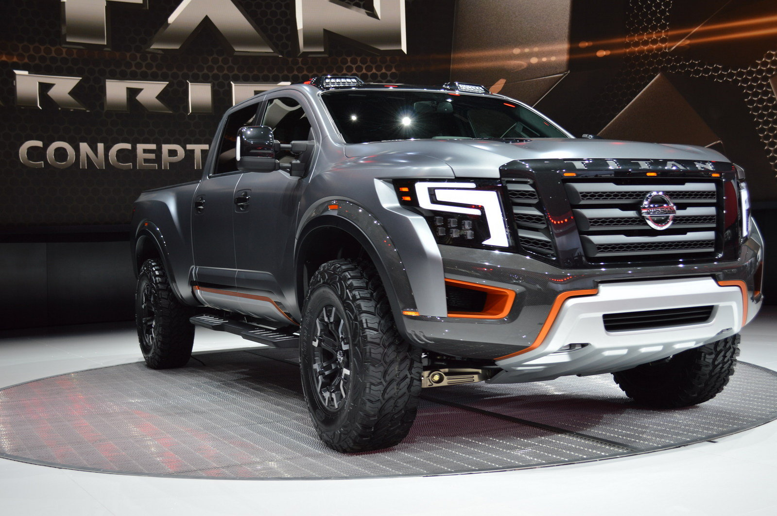 2016 nissan titan warrior concept picture 661606 truck review top speed. Black Bedroom Furniture Sets. Home Design Ideas