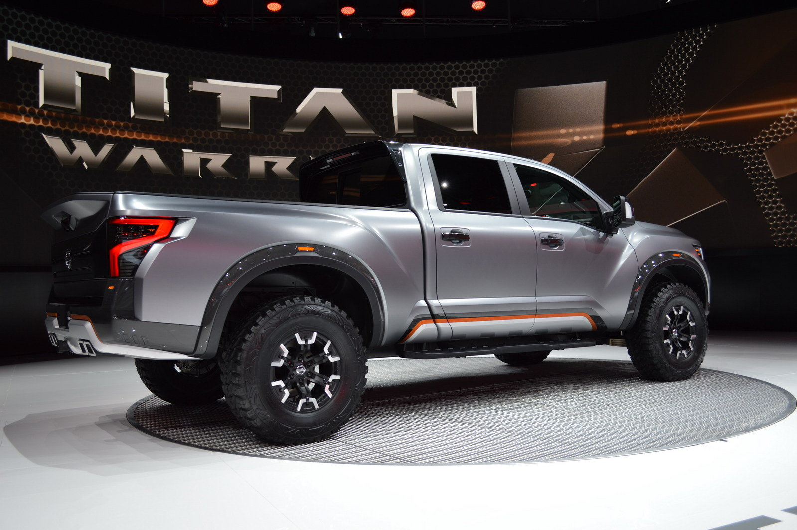2016 nissan titan warrior concept picture 661596 truck review top speed. Black Bedroom Furniture Sets. Home Design Ideas