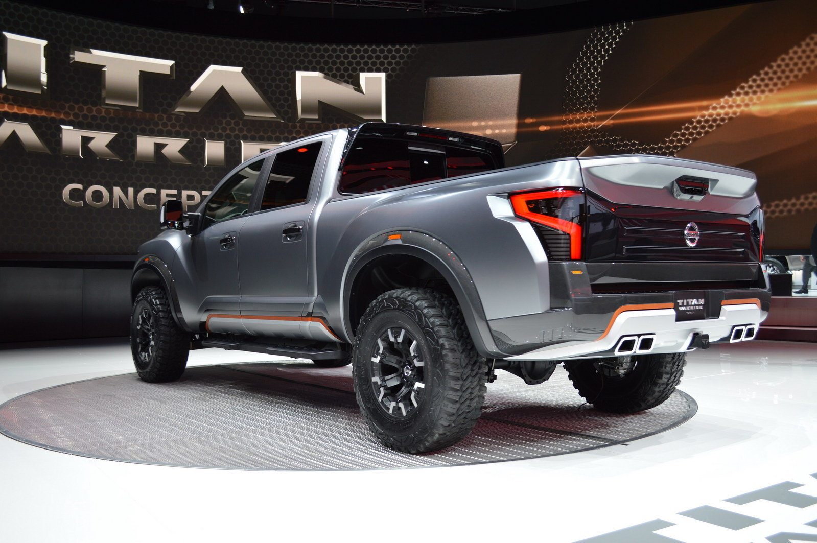 2016 nissan titan warrior concept picture 661599 truck review top speed. Black Bedroom Furniture Sets. Home Design Ideas